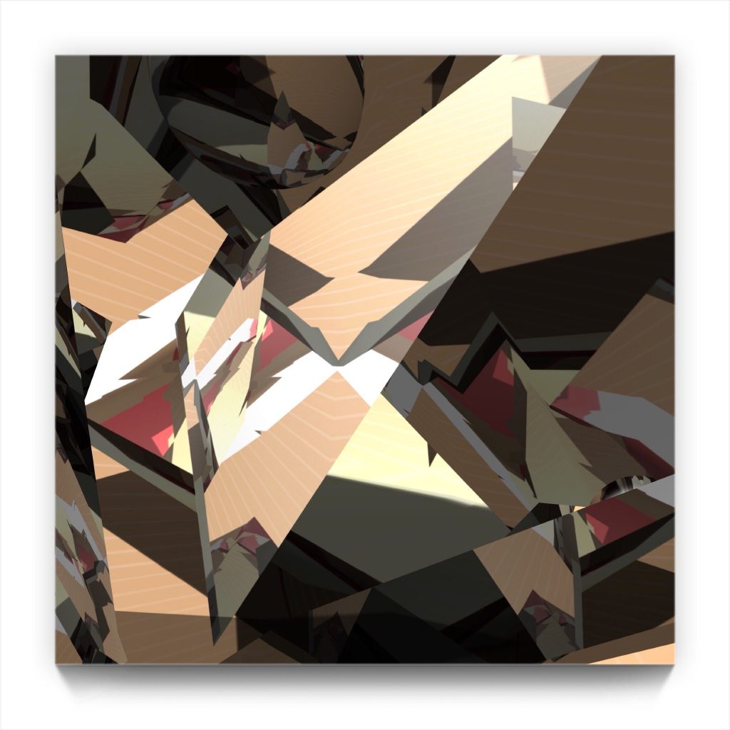 PAPERMAN // 2016 by New Media iPhone Artist Mark Sedgwick