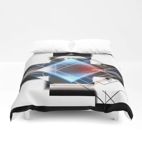 Limited Edition Duvet Cover // HIDE & SEEK by new media iPhone artist Mark Sedgwick