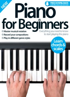 Piano for Beginners . 6th ED