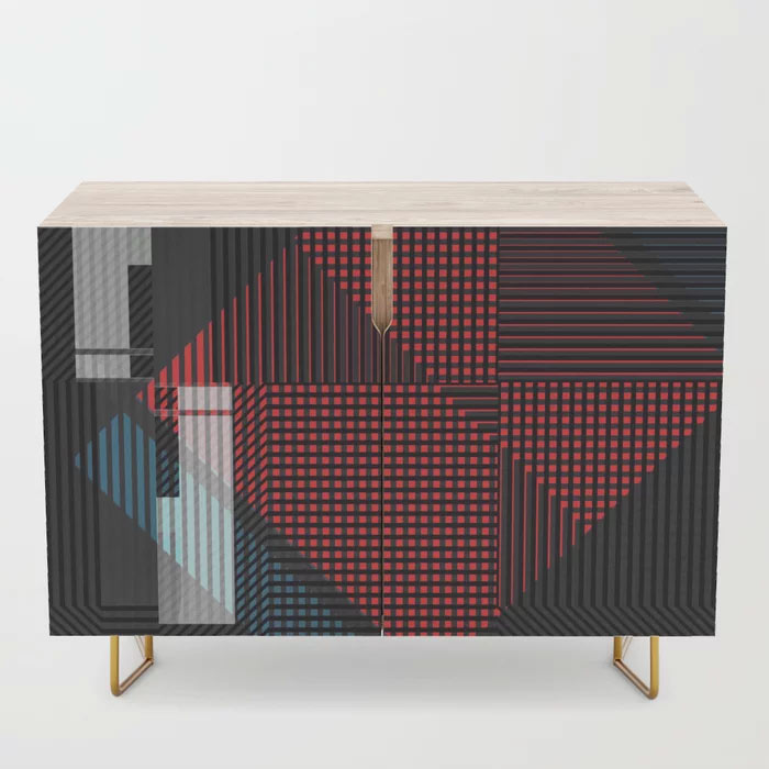 Limited Edition Credenza // Addictive by New Media iPhone artist Mark Sedgwick