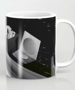 Limited Edition Coffee Mug // DIGITAL LANDSCAPE by New Meida iPhone Artist Mark Sedgwick