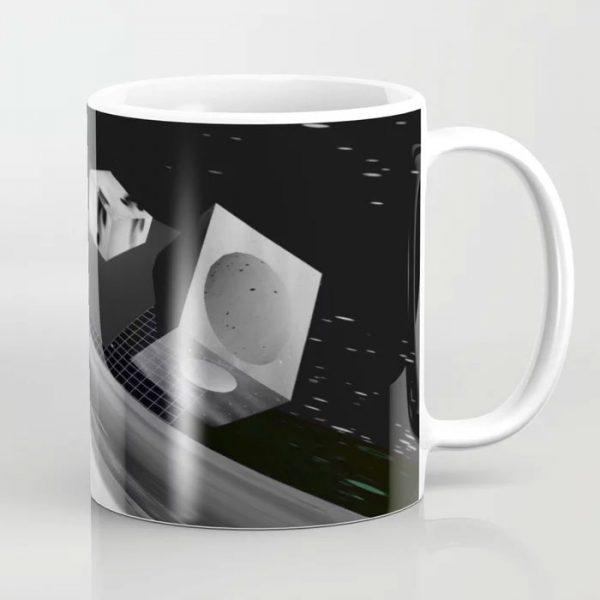Limited Edition Coffee Mug // DIGITAL LANDSCAPE by New Meida iPhone Artist Mark Sedgwick
