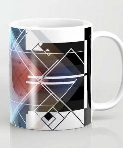 Limited Edition Coffee Mug // Hide & Seek by New Media iPhone artist Mark Sedgwick
