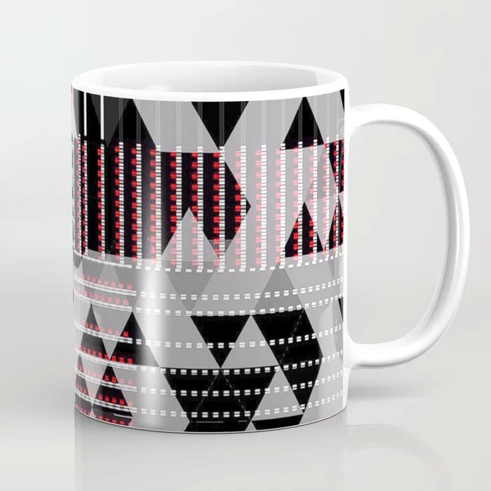 Limited Edition Coffee Mug by New Media iPhone digital artist Mark Sedgwick