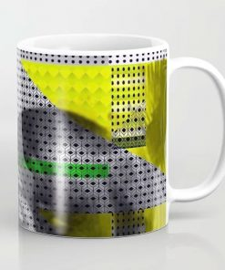 Limited Edition Coffee Mug // ASTRO GIRL by New Media iPhone artist Mark Sedgwick