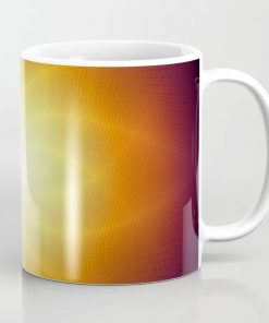 SUNSHINE COFFE MUG by New media iPhone artist Mark Sedgwick