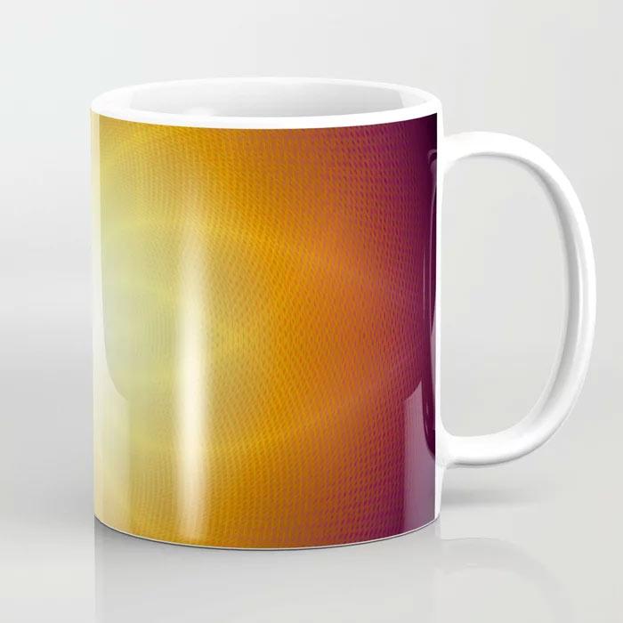 SUNSHINE COFFE MUG by New media iPhone artist Mark Sedgwick