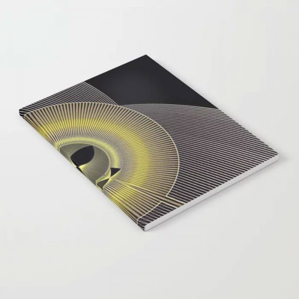 Limited Edition Notebook // SILENT MOVIES by new media iPhone artist Mark Sedgwick