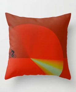 Limited Edition Throw Pillow // 50 Miles a Day by New Media iPhone artist Mark Sedgwick