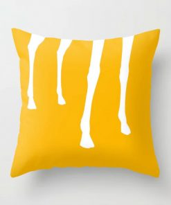 Throw Pillow . Giraffe by Limited Edition Art Prints by New Media iPhone Artist Mark Sedgwick