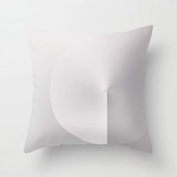 Throw Pillow // MiNiMA 18.11 by New media iPhone artist Mark Sedgwick