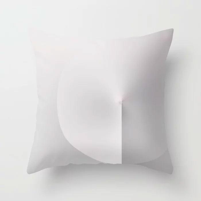 Throw Pillow // MiNiMA 18.11 by New media iPhone artist Mark Sedgwick