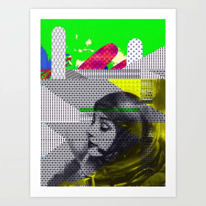 Limited Edition Digital Print by New Media iPhone artist Mark Sedgwick