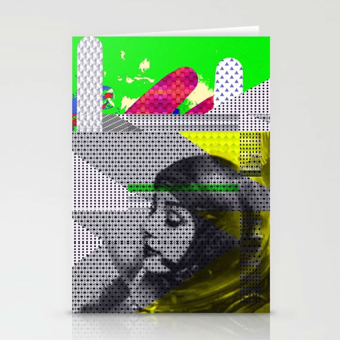 Limited Edition Stationary ASTRO GIRL by new media iPhone artist Mark Sedgwick