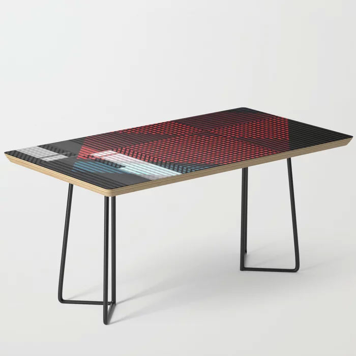Limited Edition Coffee Table by New media iPhone Artist Mark Sedgwick