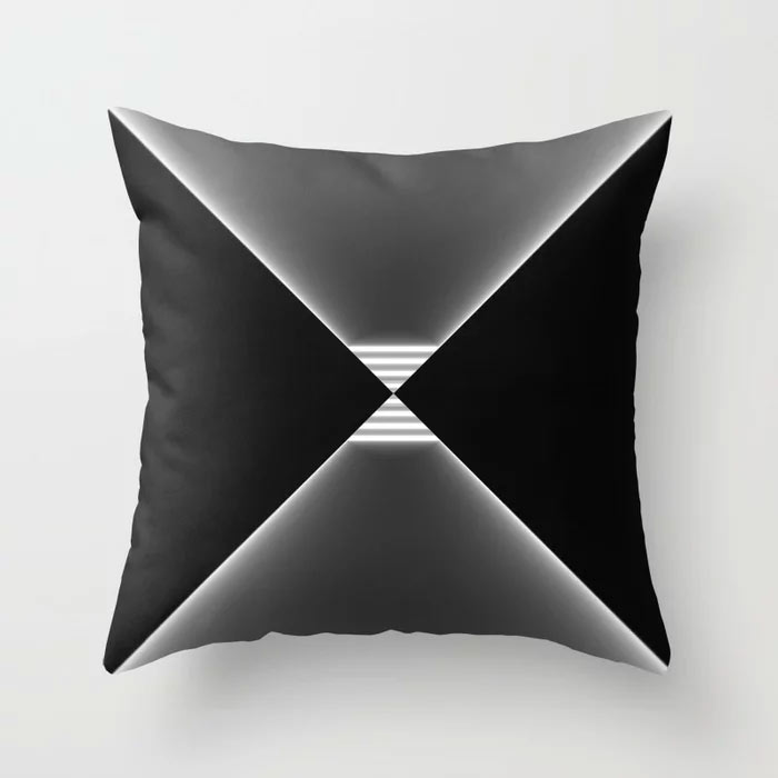 Limited Edition Throw Pillow // ATTRACTION by New Media iPhone artist Mark Sedgwick