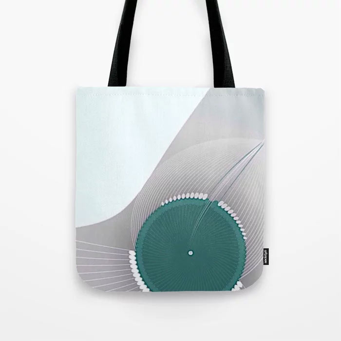 Limited Edition Tote Bag // Chrysalis by New Media iPhone artist Mark Sedgwick