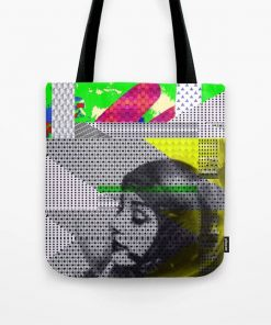 Tote Bag // ASTRO GIRL by New media iPhone artist Mark Sedgwick