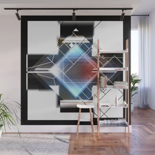 Limited Edition Wall Mural // Hide & Seek by new Media iPhne artist Mark Sedgwick