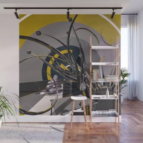 Wall Mural // Gladitorial Gladioli