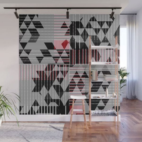 Limited Edition Wall Mural // JUX by New Media iPhone artist Mark Sedgwick