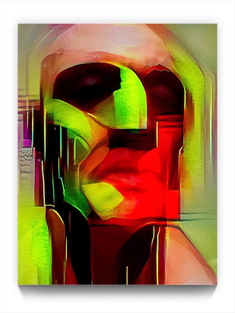 NEURALiSM the Portrait by iPhone artist Mark Sedgwick