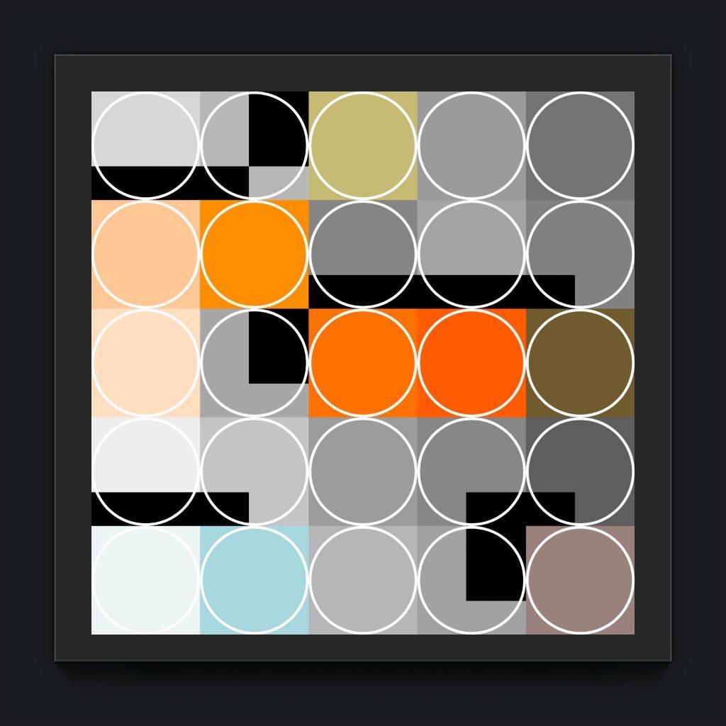the iKONIK series 19.1 by newmedia iphone Artist Mark Sedgwick