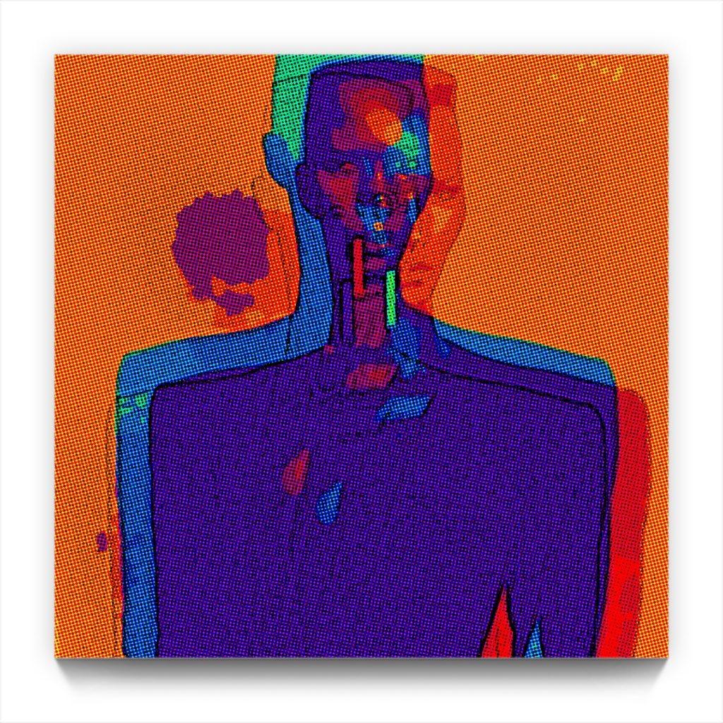 nightclubbing Grace Jones by new media iPhone artist Mark Sedgwick