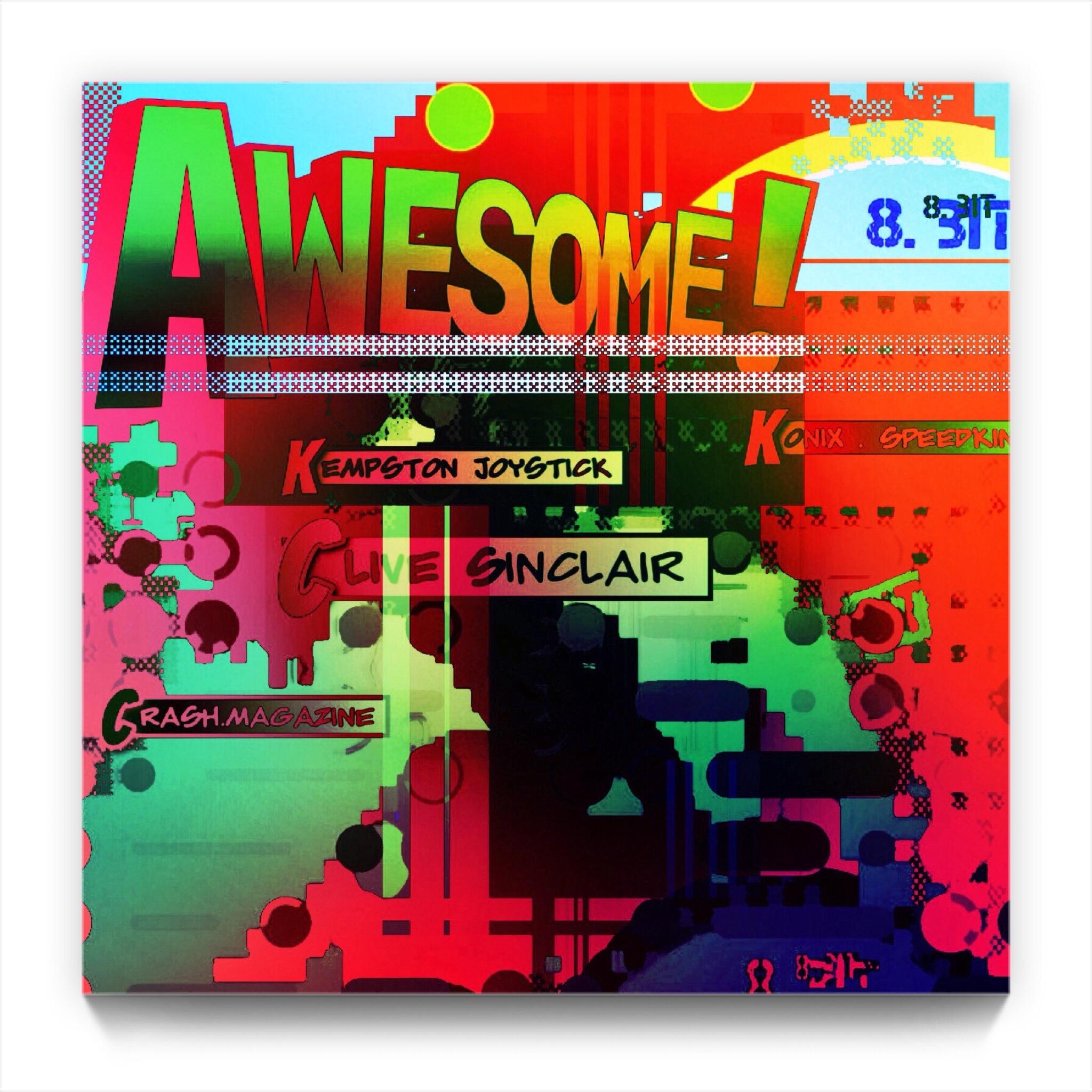 AWESOME 8 bit by newmedia ipad Artist Mark Sedgwick