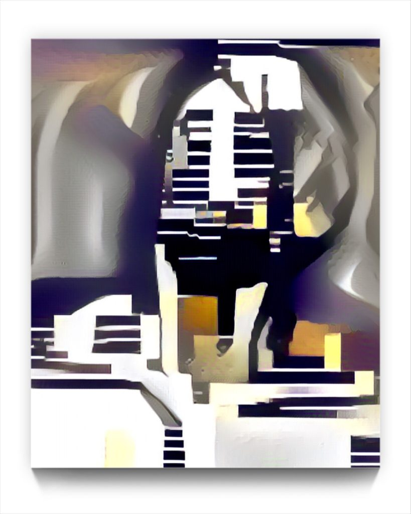 NEURALiSM . 19.15 the PORTRAIT by new media iPad artist Mark Sedgwick