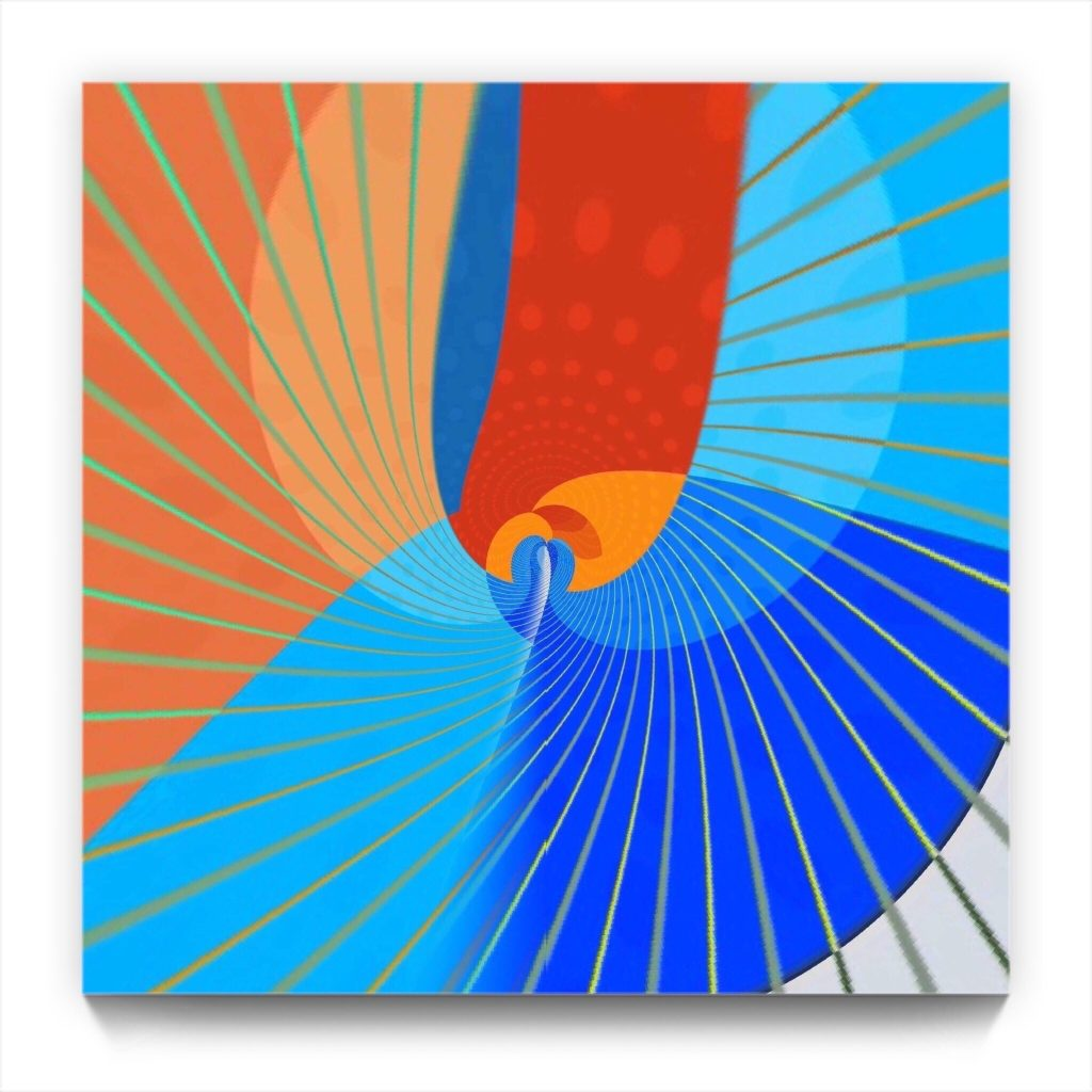 freedom / iPhone 3G abstract art by new media iPhone artist Mark Sedgwick
