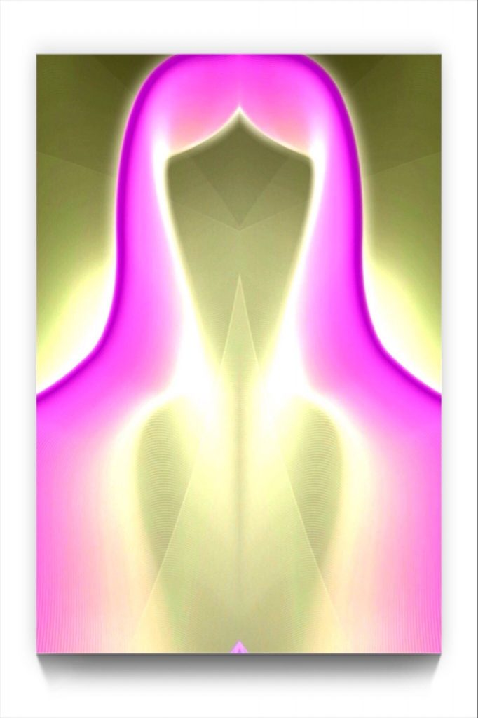 a sacred feminine by newmedia iphone Artist Mark Sedgwick