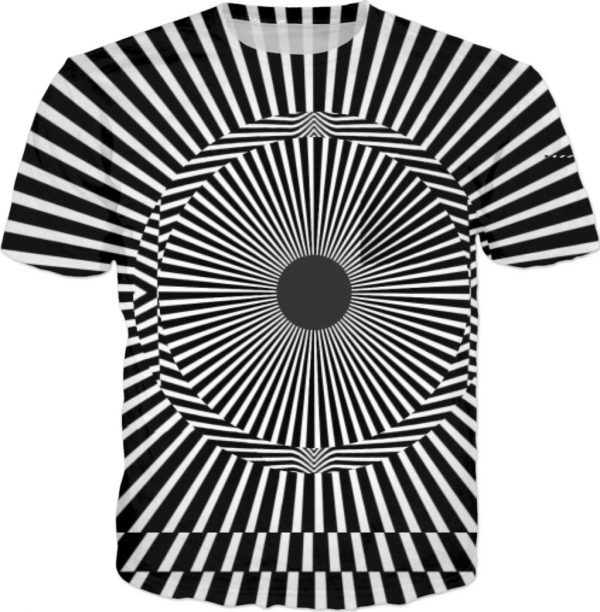 Limited Edition ALL OVER Printed T shirt by new media iPhone artist Mark Sedgwick