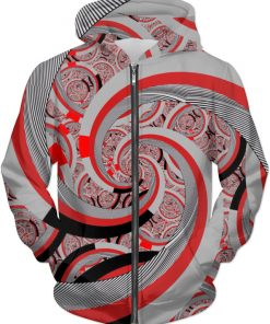 FSP 19 . ALL OVER Printed Jacket Hoodie