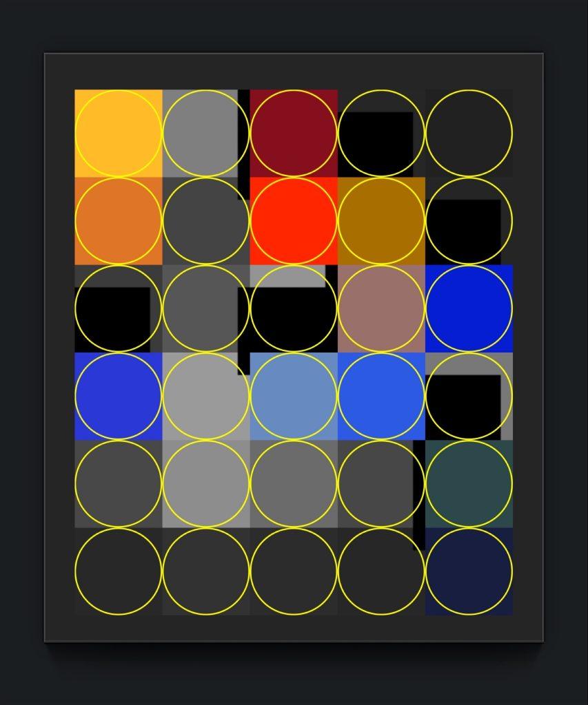 iKONiK SERIES 18 . 9 . original digital iphone abstract