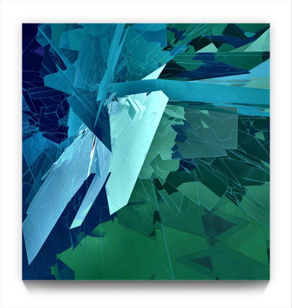 paperman : the Landscape 18 . 2 . original Modern modernist ipad art