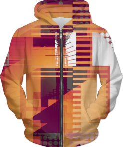 STRUCTURE 8 . HOODIE by New Media Virtual Artist Mark Sedgwick