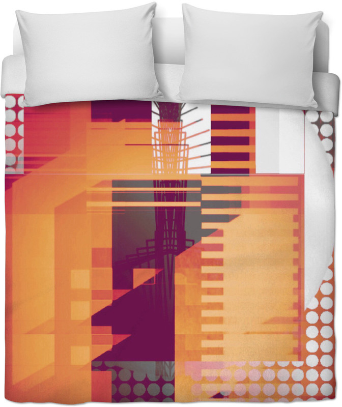 STRUCTURE 8 . BEDDING by New Media Virtual Artist Mark Sedgwick