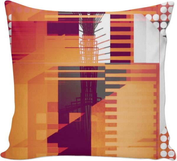 STRUCTURE 8 . CUSHION by New Media Virtual Artist Mark Sedgwick