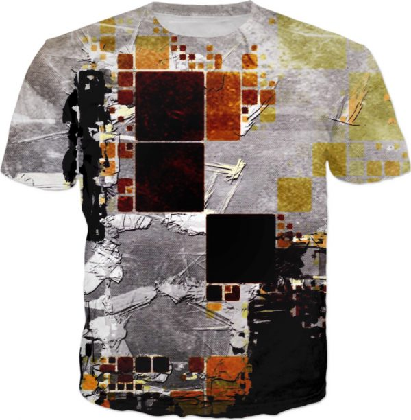 Dilapidated . ALL OVER Printed T shirt