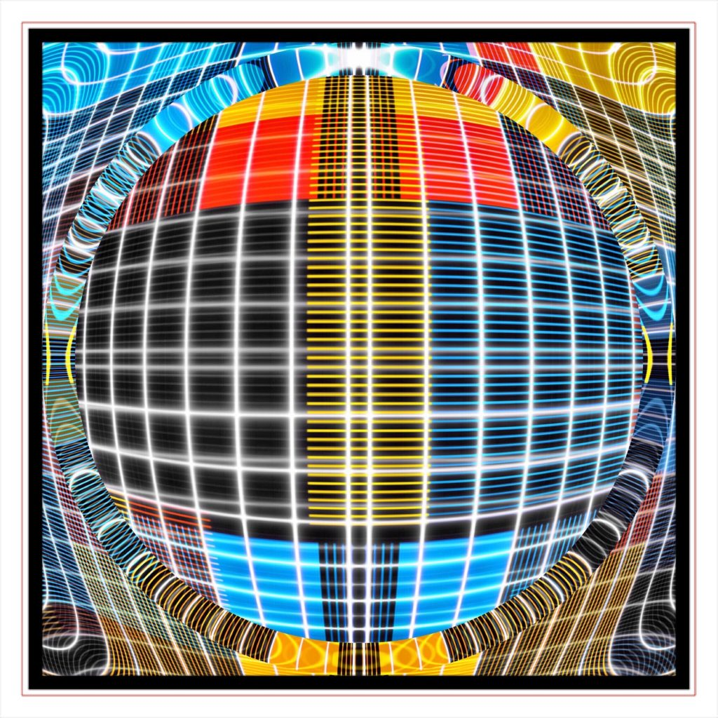 testcard reality by new media iPhone artist Mark Sedgwick