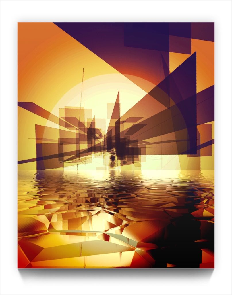 Marudander by New media iPhone artist Mark Sedgwick