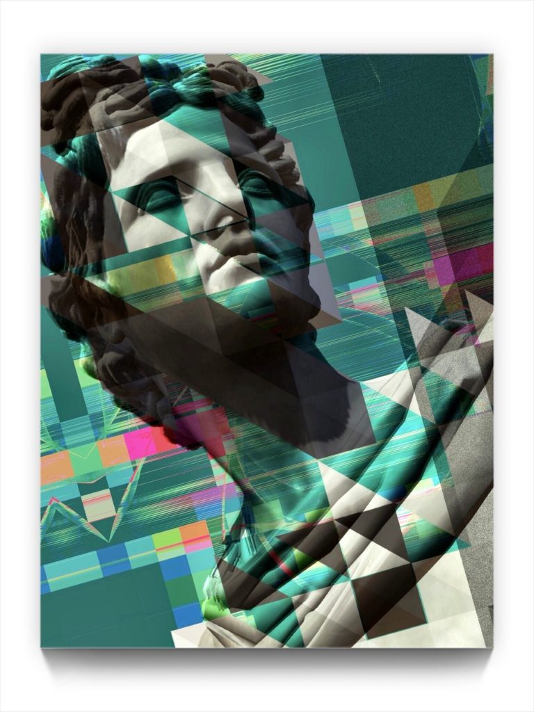 Classical Principle by new media iPhone artist Mark Sedgwick
