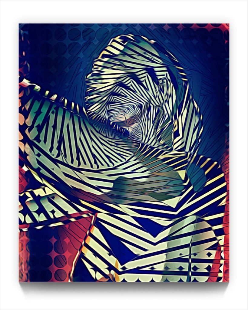 EVA.A 19 . 1 by new media iphone artist Mark Sedgwick