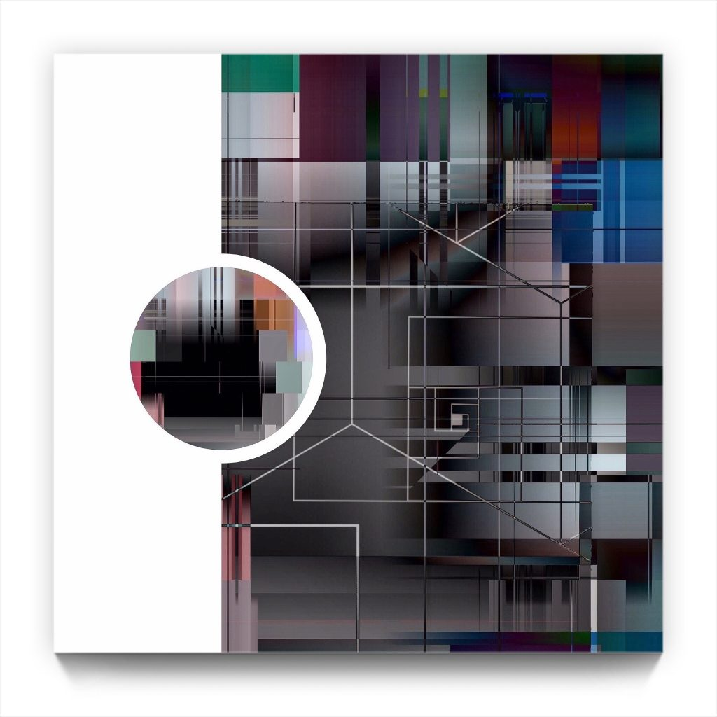 Hide & Seek . New media iPhone art