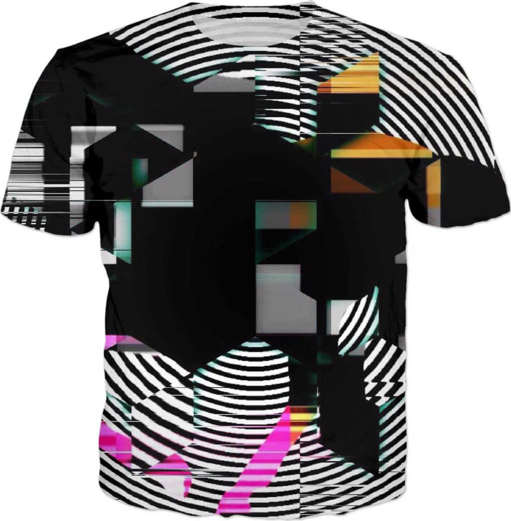 OUTSIDER . ALL OVER Printed T shirt
