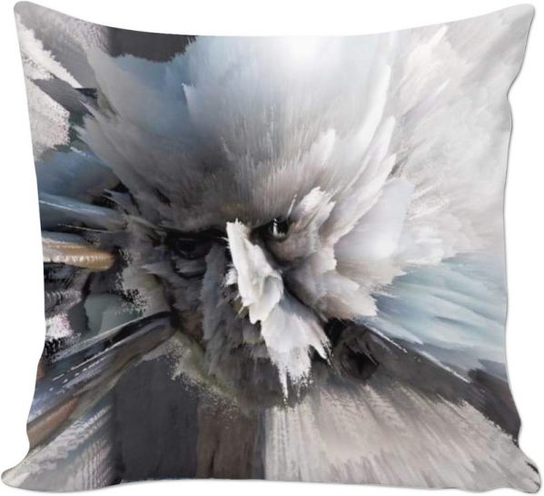 Thoughts Like Sand . ALL OVER Printed Cushion