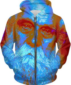 Blue CHRISTMAS . SMARTPHONE JACKET by New Media Virtual Artist Mark Sedgwick
