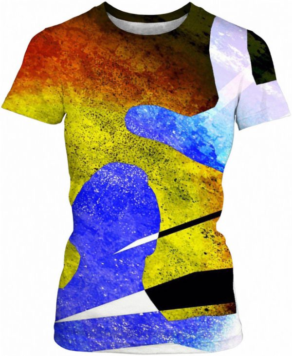 There IT IS ! . ALL OVER Printed T Shirt