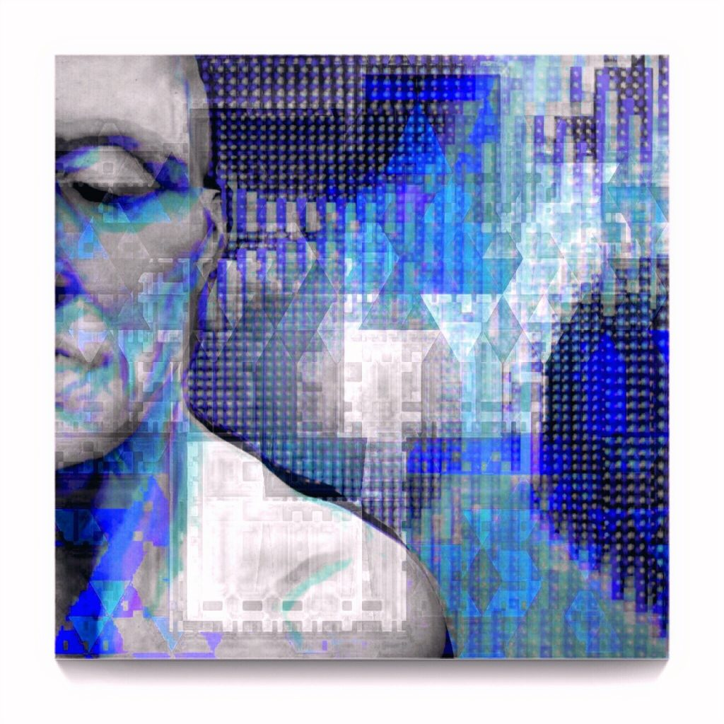 more GLITCH than MACHINE by new media iPhone artist Mark Sedgwick